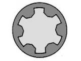 Комплект болтов головки цилидра  Болты ГБЦ AUDI 2.6/2.8 91-  Длина [мм]: 134 Размер резьбы: M11 Профиль головки болта: полидрайв