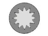 Комплект болтов головки цилидра  Болты ГБЦ AUDI/VW 2.5TD 97-  Длина [мм]: 155 Размер резьбы: M12 Профиль головки болта: внутренний многогранник необходимое количество: 2
