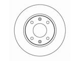 Тормозной диск  ДИСК ТОРМОЗНОЙ ПЕРЕДНИЙ  Диаметр [мм]: 247 Высота [мм]: 34,3 Тип тормозного диска: вентилируемый Толщина тормозного диска (мм): 20,5 Минимальная толщина [мм]: 18,5 Диаметр центрирования [мм]: 66 Число отверстий в диске колеса: 4