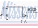 Конденсатор, кондиционер  Радиатор кондиционера VAG A3/GOLF V/OCTAVIA 1.4/1.6/2.0/1.9-2.0 T  Размеры радиатора: 550 X 390 X 16 mm Материал: алюминий Дополнительный артикул / Доп. информация 2: с осушителем