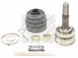 Шарнирный комплект, приводной вал  ШРУС  Сторона установки: со стороны колеса Тип соединения / сочленения: Шарнир равных угловых скоростей Внешнее зубчатое соединение со стороны колеса: 25 Внутренне зубчатое соединение со стороны колеса: 22 Диаметр прокладки [мм]: 55 Внешний диаметр [мм]: 82 Тормозная динамика / динамика движения: для автомобилей с ABS Число зубцов кольца ABS: 42