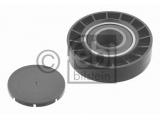 Паразитный / ведущий ролик, поликлиновой ремень  Ролик ремня приводного AUDI А80/100/А6  Ширина (мм): 18 Внутренний диаметр: 8 Внешний диаметр [мм]: 78 Материал: полимерный материал Вес [кг]: 0,162 необходимое количество: 1