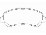 Комплект тормозных колодок, дисковый тормоз  Колодки тормозные дисковые передние  для артикула №: P 56 062 Ширина (мм): 142 Высота [мм]: 59,3 Толщина [мм]: 17 Датчик износа: подготовлено для датчика износа колодок