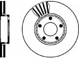 Тормозной диск  Торм.диск пер.вент.[288x25] 5 отв.[min 2  Тип тормозного диска: с внутренней вентиляцией Диаметр [мм]: 288 Высота [мм]: 46,2 Вес [кг]: 7,56 Толщина тормозного диска (мм): 25 Минимальная толщина [мм]: 23 Расположение/число отверстий: 05/10 Внутренний диаметр: 135 Диаметр центрирования [мм]: 68 Ø фаски 2 [мм]: 112 Дополнительный артикул / Доп. информация 2: без ступицы Дополнительный артикул / Доп. информация 2: без колесной крепящей оси Номер технической информации: 98200 0576 0 1