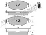 Комплект тормозных колодок, дисковый тормоз  КОЛОДКИ ТОРМОЗНЫЕ ДИСКОВЫЕ  Тормозная система: Bendix - Bosch Ширина (мм): 131 Высота [мм]: 47,3 Толщина [мм]: 18 Датчик износа: не подготовленно для датчика износа проверочное значение: ECE R90 APPROVED