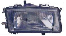 AUDI 80 ФАРА ПРАВ +/- КОРРЕКТОР С ПЛАСТ ОТРАЖ (DEPO) на Audi 80, 90 B3 (Ауди б3) - цена, наличие, описание