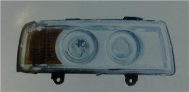 AUDI 80 ФАРА ПРАВ ТЮНИНГ ЛИНЗОВАН С УК.ПОВОР ВНУТРИ ХРОМ на Audi 80, 90 B3 (Ауди б3) - цена, наличие, описание