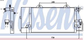 AUDI 80 КОНДЕНСАТОР КОНДИЦ (см.каталог) на Audi 80, 90 B4 (Ауди б4) - цена, наличие, описание