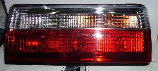 BMW E30 Фонари задние комплект Л+П (СЕДАН) тюнинг прозрачные хрустал Красный+Белый на BMW e30 (БМВ е30) - цена, наличие, описание