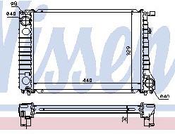 BMW E30 Радиатор охлаждения (NISSENS) (см.каталог) на BMW e30 (БМВ е30) - цена, наличие, описание