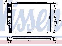 BMW Е32 {E34 87-93} Радиатор охлаждения  (NISSENS) (NRF) (GERI) (см.каталог) на BMW e34 (БМВ е34) - цена, наличие, описание