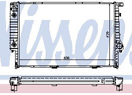 BMW E32 {E34 87-93} Радиатор охлаждения (см.каталог) на BMW e34 (БМВ е34) - цена, наличие, описание