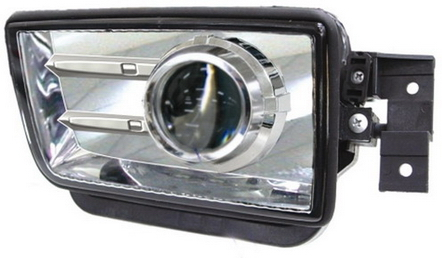 BMW E34 Фара противотуманная левая+правая (комплект) тюнинг прозрачная (DEPO) внутри хром на BMW e34 (БМВ е34) - цена, наличие, описание