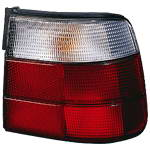 BMW E34 Фонарь задний внешний левый (DEPO) белый-красный на BMW e34 (БМВ е34) - цена, наличие, описание