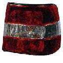 BMW E34 Фонарь задний внешний правый (СЕДАН) тюнинг прозрачный хрустальный красный-белый на BMW e34 (БМВ е34) - цена, наличие, описание