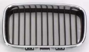 BMW E36 Решетка радиатора левая хром-черн на BMW e36 (БМВ е36) - цена, наличие, описание