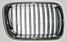 BMW E36 Решетка радиатора правая полностью хром на BMW e36 (БМВ е36) - цена, наличие, описание