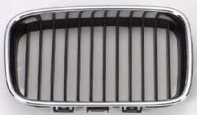 BMW E36 Решетка радиатора правая хром-черн на BMW e36 (БМВ е36) - цена, наличие, описание