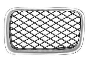 BMW E36 Решетка радиатора левая тюнинг диагон сетка (Италия) хром-черн на BMW e36 (БМВ е36) - цена, наличие, описание
