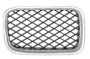 BMW E36 Решетка радиатора правая тюнинг диагон сетка (Италия) хром-черн на BMW e36 (БМВ е36) - цена, наличие, описание