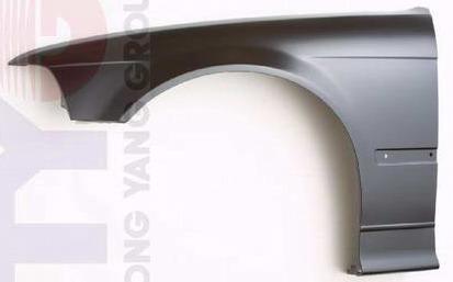 BMW E36 Крыло переднее левое (СЕДАН) (compact) без отверстия под повторитель на BMW e36 (БМВ е36) - цена, наличие, описание