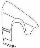 BMW E36 Крыло переднее правое (КУПЕ) (кабриолет) без отверстия под повторитель на BMW e36 (БМВ е36) - цена, наличие, описание