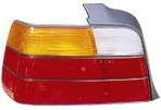 BMW E36 Фонарь задний внешний левый (СЕДАН) желто-красный на BMW e36 (БМВ е36) - цена, наличие, описание
