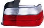 BMW E36 Фонарь задний внешний правый (СЕДАН) бело-красный на BMW e36 (БМВ е36) - цена, наличие, описание