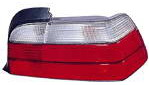 BMW E36 Фонарь задний внешний правый (КУПЕ) (кабриолет) бело-красный на BMW e36 (БМВ е36) - цена, наличие, описание
