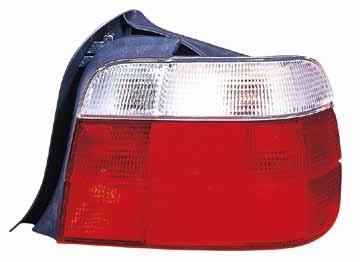 BMW E36 Фонарь задний внешний правый (compact) красно-белый на BMW e36 (БМВ е36) - цена, наличие, описание