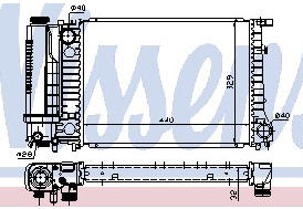 BMW E34 {E30/E36} Радиатор охлаждения (см.каталог) на BMW e36 (БМВ е36) - цена, наличие, описание