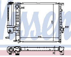 BMW E36 Радиатор охлаждения (см.каталог) на BMW e36 (БМВ е36) - цена, наличие, описание
