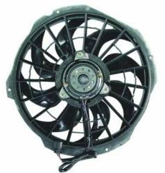 BMW E36 Электро-вентилятор радиатора кондиционера (Мотор+вентилятор конденсатора кондиционера) С КОРПУСОМ на BMW e36 (БМВ е36) - цена, наличие, описание