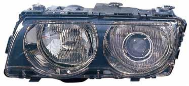 BMW E38 Фара левая (КСЕНОН) п/корректор внутри черная на BMW e38 (БМВ е38) - цена, наличие, описание
