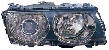 BMW E38 Фара правая (КСЕНОН) п/корректор внутри черная на BMW e38 (БМВ е38) - цена, наличие, описание