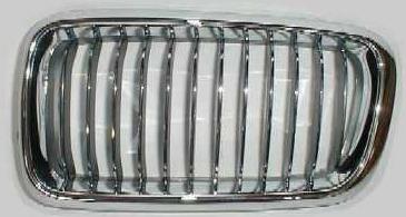 BMW E38 Решетка радиатора левая хром (ноздри) на BMW e38 (БМВ е38) - цена, наличие, описание