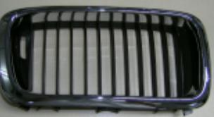 BMW E38 Решетка радиатора правая хром-черный на BMW e38 (БМВ е38) - цена, наличие, описание