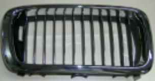 BMW E38 Решетка радиатора правая полностью хром на BMW e38 (БМВ е38) - цена, наличие, описание