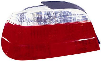 BMW E38 Фонарь задний внешний левый хрустальный красно-белый на BMW e38 (БМВ е38) - цена, наличие, описание