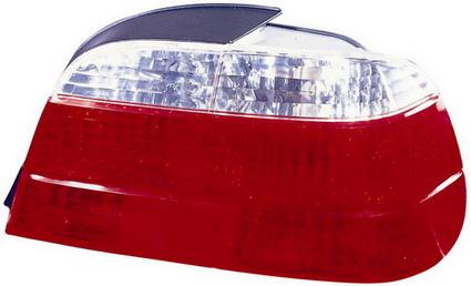 BMW E38 Фонарь задний внешний правый хрустальный красно-белый на BMW e38 (БМВ е38) - цена, наличие, описание