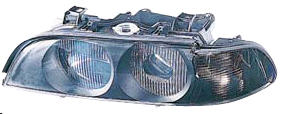 BMW E39 {D2S/HB3} Фара левая п/корректор (Ксенон) (DEPO) указатель поворота тонированный на BMW e39 (БМВ е39) - цена, наличие, описание