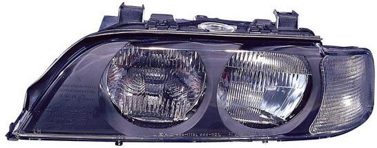 BMW E39 {H7/HB3} Фара левая (DEPO) п/корректор указатель поворота белый на BMW e39 (БМВ е39) - цена, наличие, описание