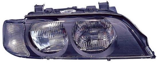 BMW E39 {H7/HB3} Фара правая (DEPO) п/корректор указатель поворота белый на BMW e39 (БМВ е39) - цена, наличие, описание