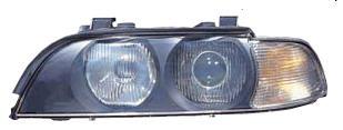 BMW E39 {D2S/HB3} Фара левая п/корректор (Ксенон) (DEPO) указатель поворота белый на BMW e39 (БМВ е39) - цена, наличие, описание
