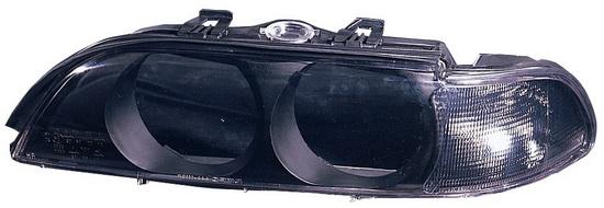 BMW E39 Стекло фары левое, тонированный поворотник на BMW e39 (БМВ е39) - цена, наличие, описание