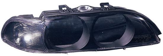 BMW E39 Стекло фары правое, тонированный поворотник на BMW e39 (БМВ е39) - цена, наличие, описание