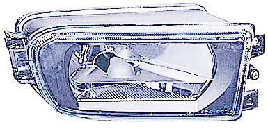 BMW E39 Фара противотуманная правая (DEPO) прозрачная на BMW e39 (БМВ е39) - цена, наличие, описание