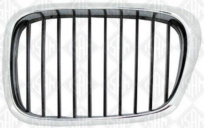 BMW E39 Решетка радиатора левая хром-черная на BMW e39 (БМВ е39) - цена, наличие, описание