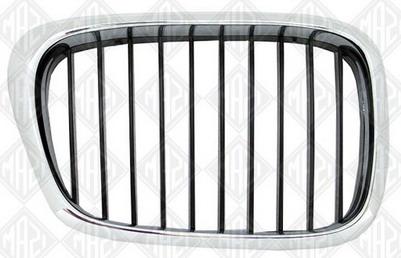 BMW E39 Решетка радиатора правая хром-черная на BMW e39 (БМВ е39) - цена, наличие, описание