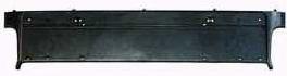 BMW E39 Крепление номера переднего бампера черное с хром молдинг на BMW e39 (БМВ е39) - цена, наличие, описание
